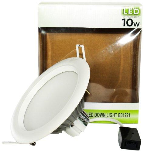 Bosse B31221-WW - Faretto LED da 10 W, 15 cm, luce bianca calda