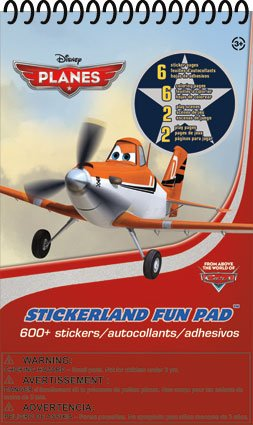 Disney Planes Sticker - Stickerland Fun Pad - 1