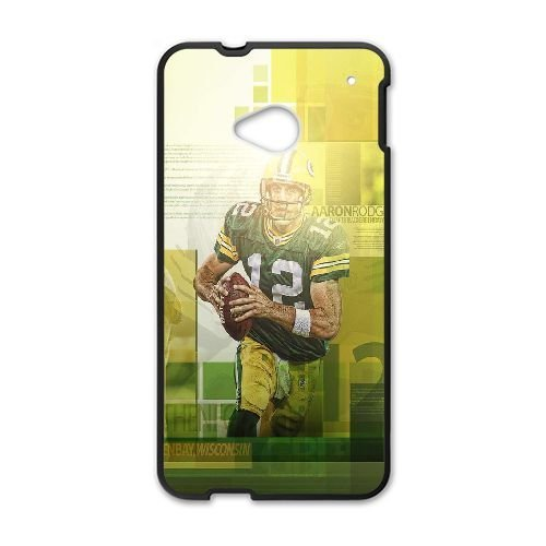 Aaron Rodgers HTC One M7 Cell Phone Case Black W5H6CA