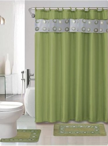 best lime green shower curtain