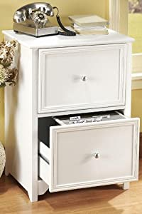 Oxford File Cabinet 2 Drawer White Kitchen Dining