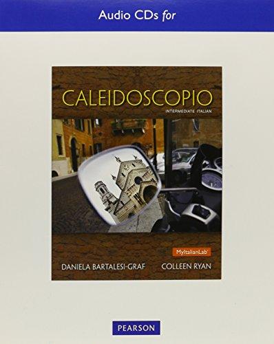 Text Audio CDs for Caleidoscopio