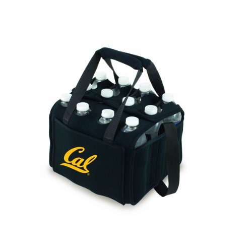 Ncaa California Golden Bears Beverage Buddy Insulated 12-Pack Drink Tote, Black