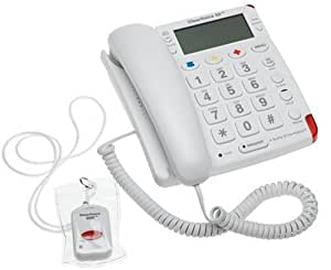 Telemergency ClearVoice 2000 Emergency Telephone with Wireless Pendant