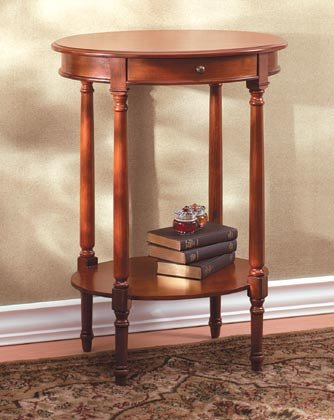 Cheap Console/End Table; Oval (B000B9ODSK)