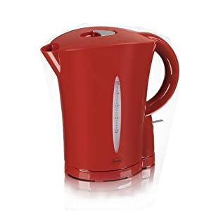 Swan 1.7 Litre Jug Kettle - in Red - Cordless