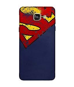 Samsung Galaxy A7 2016 Designer / Printed Back Cover -(superman)