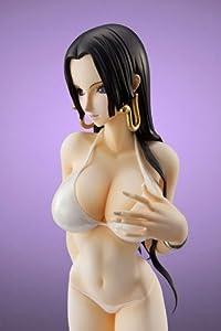 One Piece P.O.P. 1/8 Scale Boa Hancock White Swimsuit Toei Animation Shop Limited Figure (japan import)