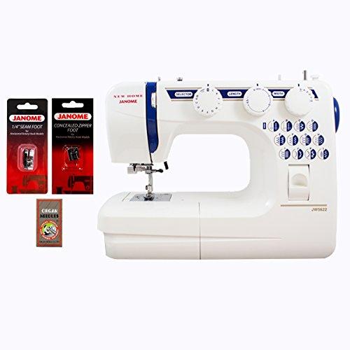 Janome JW5622 Refurbished Sewing Machine With Free Bonus Accessories (Refurbished Janome compare prices)