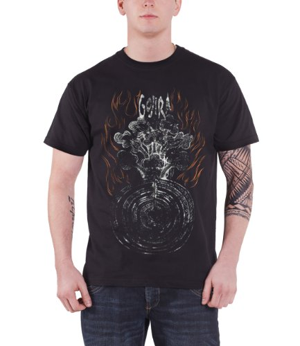 TREE OF FIRE SLIM FIT T-SHIRT-GOJIRA