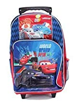 Cars Rolling BackPack - Disney's Cars Large Rolling School Bag