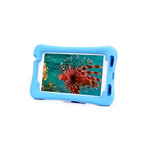 Generic Multi Function Kids Childproof Shockproof Cover Case with Stand For Samsung Galaxy Tab 3 7.0 inch P3200 P3210 T210 T211 Color Blue
