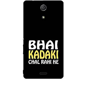 Skin4gadgets BHAI KADAKI CHAL RAHI HE Phone Skin for SONY XPERIA ZR (M36H)