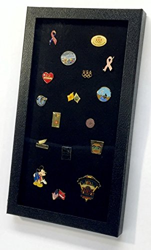 Pin Collector`s Display Case by Hobbymaster -- for Disney, Hard Rock, Olympic & other collectible pins, holds up to 100 pins