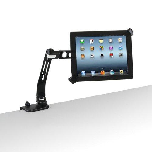 センチュリー iPad・タブレット用4軸式フリーアングルモニターアーム「鉄腕」フレキシブルタブレットアーム [タブレットスタンド] CEN-SRB-T001