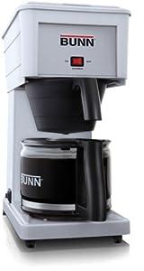 Amazon.com: BUNN GRX-W 10 Cup Velocity Brew Coffee Maker White Brewer: Kitchen & Dining