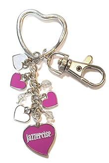 Heart Cluster Key Ring