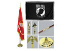 Indoor Military Flagpole Kits