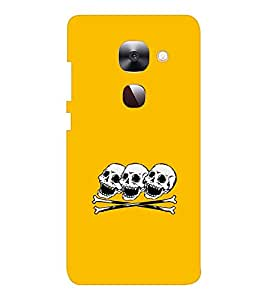 EPICCASE laughing skulls Mobile Back Case Cover For LeEco Le Max2 (Designer Case)