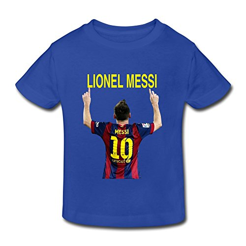 AOPO Lionel Messi NO.10 Tshirts For Toddlers Unisex (2-6 Years)