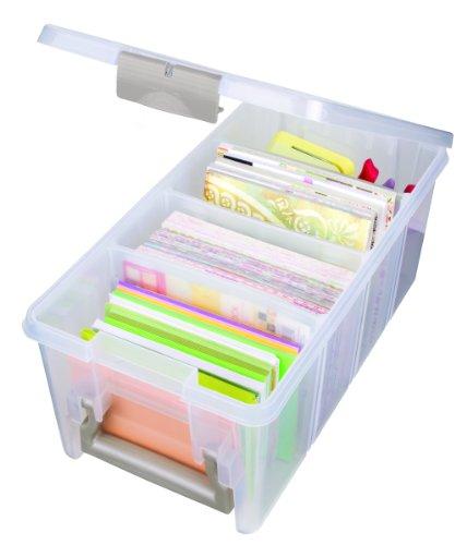 ArtBin Super Semi-Satchel - Clear Art Craft Storage Box, 6925AB (Fabric Craft Organizer compare prices)