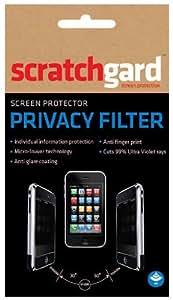 Scratchgard White-Privacy Filter Screen Protector for HTC-A320e Desire C