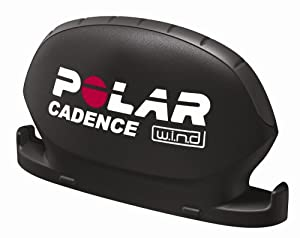 Polar CADENCE SENSOR SET WIND schwarz
