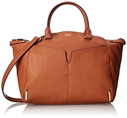 Vince Camuto Asha Satchel Shoulder Bag, Umber, One Size