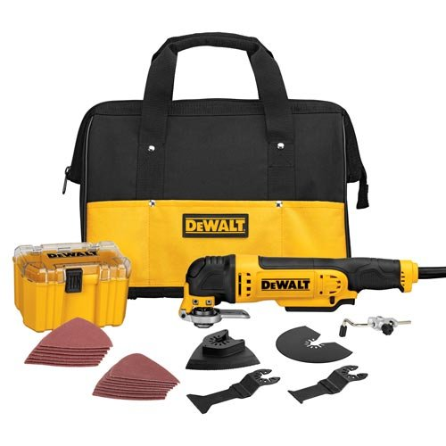 Find Cheap DEWALT DWE315K Multi Material Corded Oscillating Tool Kit