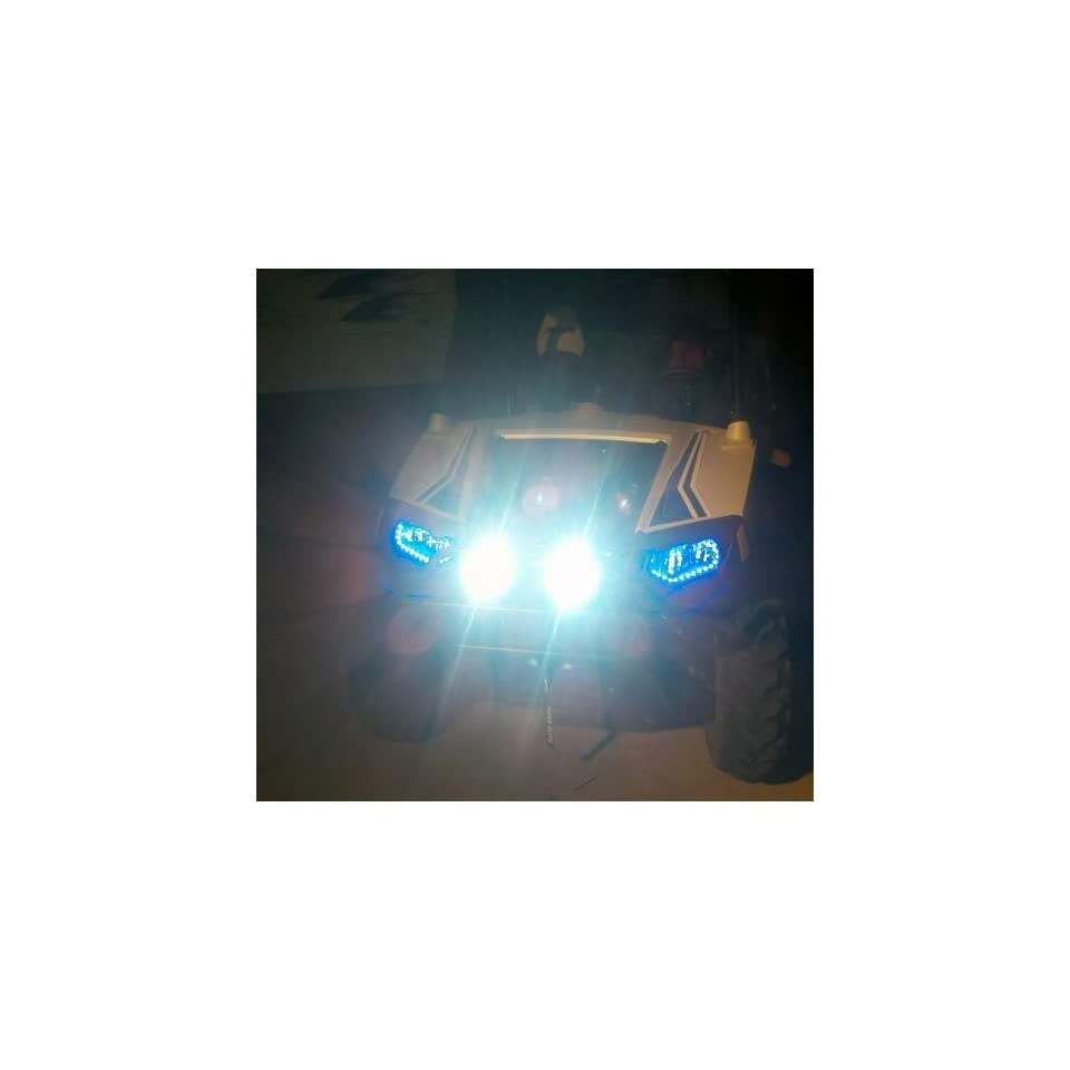 Polaris Ranger LED Driving Lights Auxillary Off Road Fog Lamps Foglamps Offroad Aux Lighting Kit