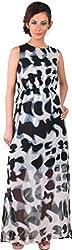Mabyn Women's Pleated Dress (SSSSD05 _S, Black, S)