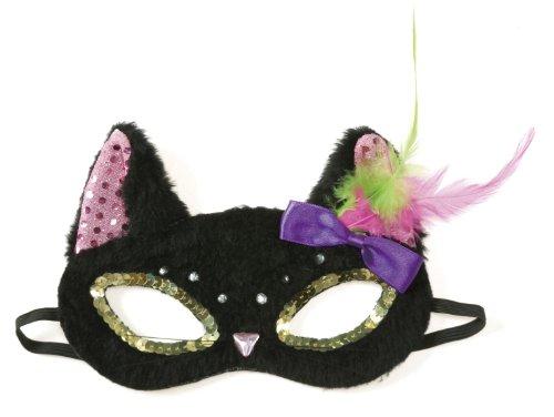 [Black cat mask (japan import)] (Cat Sushi Halloween Costume)