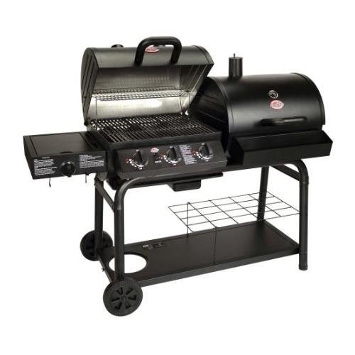 Char-Griller 5050 Duo Gas-and-Charcoal Grill