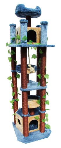 Kitty Mansions Honolulu Cat Tree Kitty Mansions B0085T0M74