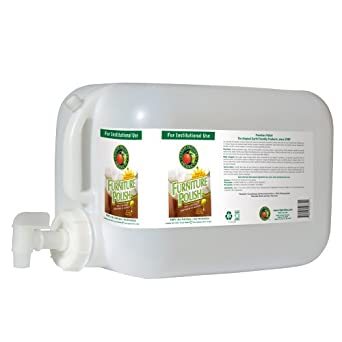 Earth Friendly Products Proline PL9731/05U Furniture Polish and Conditioner, 5 gallon Deltangular