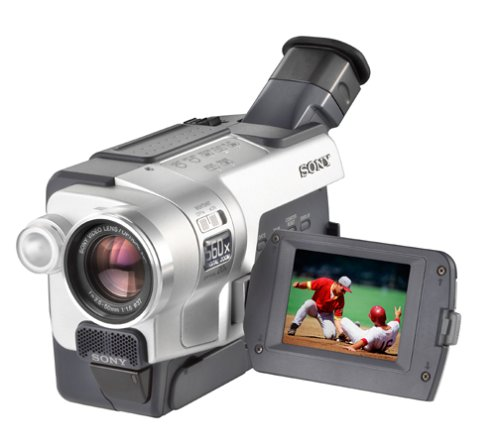 """Sony Ccdtrv318 Hi8 Camcorder With 2.5"""" Lcd And Steady Shot"""