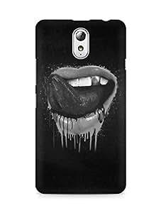 Amez designer printed 3d premium high quality back case cover for Lenovo Vibe P1M (Delicious Lips Art)