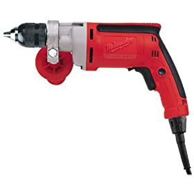 Milwaukee 0302-20 8 Amp 1/2-Inch Drill with Keyless Chuck