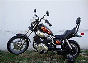Kids Electric Power Ride on Motorcycle Harley wheels BK - 6 volt higher amp