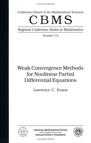 Weak convergence methods for nonlinear partial differential equations