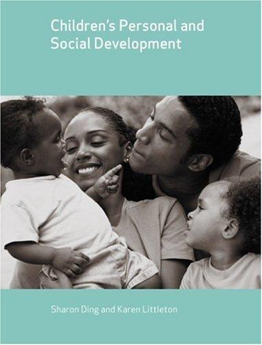 Children's Personal and Social Development (Child Development)