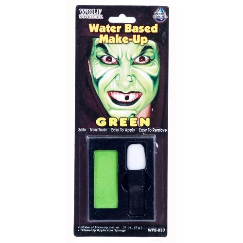 Green Water Based Make-Up