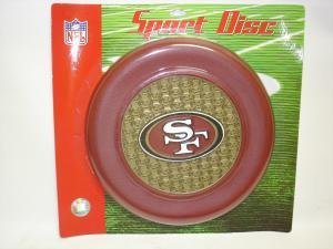 NEW San Francisco 49'ers Sport Disc NFL Frisbee Dog Toy