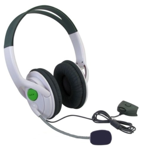 Axiom Live Headset Headphone With Microphone For Xbox 360 Slim