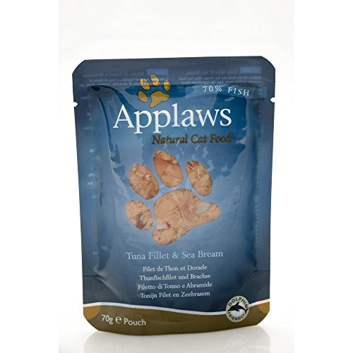 APPLAWS CAT Natural food in busta con tonno e orata umido gatto gr. 70