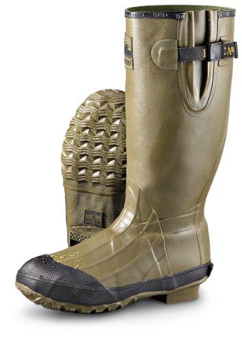 Men's Itasca Waterproof Swampwalker II Rubber Boots Green, GREEN, 9M