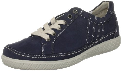 Gabor Women's Amulet Blue Naht Beige Casual Lace Ups 46.458.46 4 UK