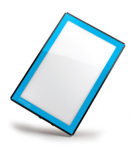 Porta-Trace LED Light Panel, Blue Frame, 16-by-18-Inch