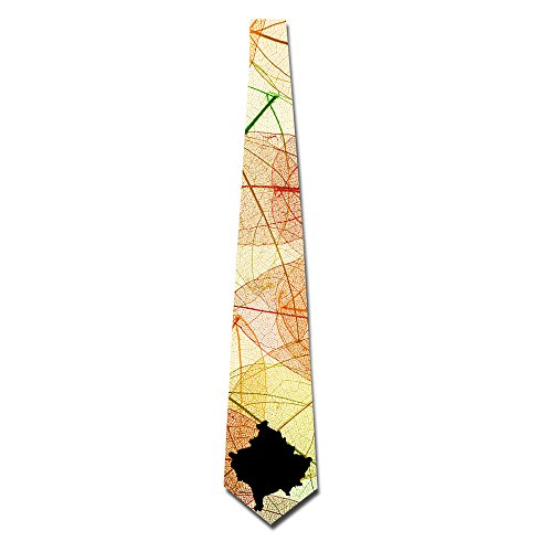 HANDSOMEFEEL Kosovo Outline Neck Suits Tie Skinny Tie