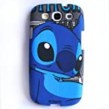 Focus Blue Disney stitch Cartoon Hard Case for Samsung Galaxy S3 i9300